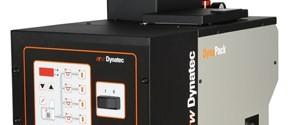 Hot melt adhesive piston pump unit