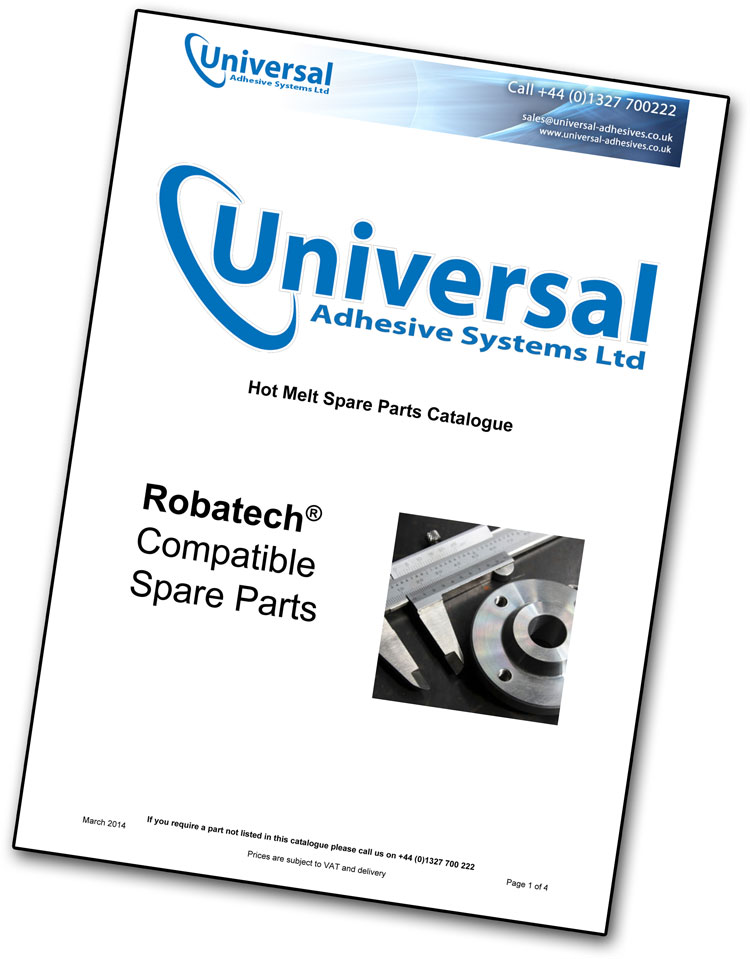 Robatech Compatible Spares Catalogue
